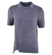 Unifarbene Herren-Poloshirts mit Rundhals