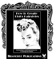 1940s Hairstyle Book by Russell (Vintage Hairstyling)