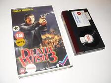 Betamax Video ~ Death Wish 3 ~ Charles Bronson ~ Guild Home Video