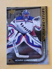 2015-16 Upper Deck Shining Stars #SS-14 Henrik Lundqvist New York Rangers
