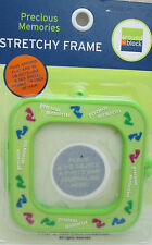 "Around The Block Precious Memories Stretchy Frame - 3"" Lime Green"