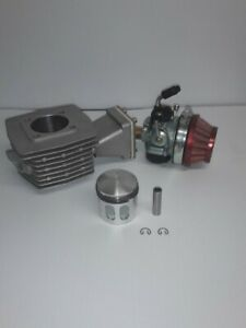 80cc  Bicycle Engine Ported G4 Cylinder G2 Reed and Window Piston Upgrade Kit