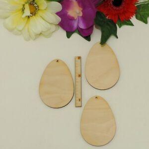 Osterei zum Selbst gestalten, Selber malen, Holz Ostereier 8cm Kreativ Set Deko
