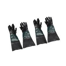 "2Pair 24"" Heavy Duty PVC Gloves for  Sandblasting Blast Cabinet"