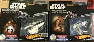 Star Wars Hot Wheels Starships & Vehicles Slave 1, Republic Attack Gunship