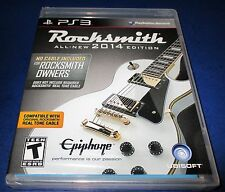 Rocksmith -- 2014 Edition -Game Only- Sony PlayStation 3 *New-Sealed-Free Ship!