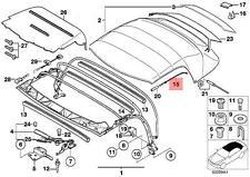 Genuine BMW Z3 Roadster Rooftop Tension Rope Repair Kit OEM 54318400951