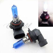9005 100W Super White High Beam Halogen Xenon Headlight #Pt5 Bulb x2 Hi Lamp