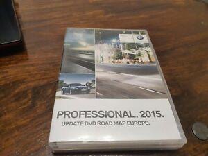 BMW Sat Nav DVD 2015 Road Map Europe Professional Update DVD 1 + DVD 2 + DVD 3