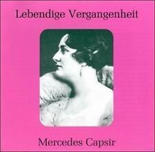 Lebendige Vergangenheit: Mercedes Capsir (CD, Feb-1998, Preiser Records)