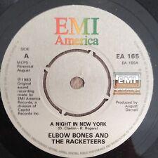 "7""  ELBOW BONES & THE RACKETEERS A NIGHT IN NEW YORK 1983."