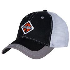 International Trucks Black & Gray Mesh Back Structured Cap/Hat