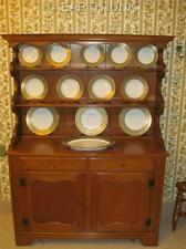 Ethan Allen Baumritter Welsh China Cabinet Two Door Base Heirloom Nutmeg Maple