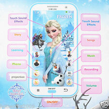 Cute Fun Kids Children Baby Frozen Figures Educational Learning Mobile Phone Toy
