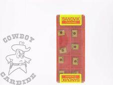 Cowboy Carbide!! Sandvik N331.1A-064508H-PM 4030 milling inserts Free Shipping
