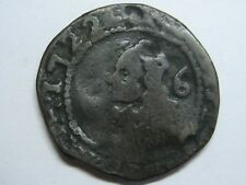1722 MALLORCA PHILIP V SEISENO SPAIN COPPER