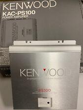Kenwood KAC-PS100 Power Amplifier **NEW** OLD SCHOOL
