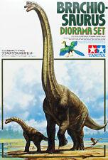 TAMIYA Brachiosauro DIORAMA SET (60106) Dinosauro Kit in Plastica
