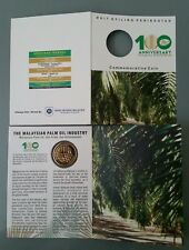 100 Years Palm Oil Malaysia Coin Card 2017