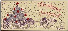 Christmas Coupons Gift Book Stocking Stuffer