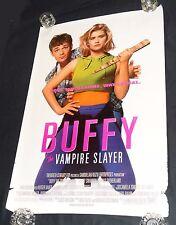 Buffy The Vampire Slayer Movie Poster One Sheet Single Sided 1992