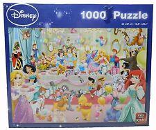 "King Puzzle Jigsaw Disney 26.8 x 19.3"" 1000 pieces Birthday 05264 Princess bell"