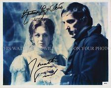 Dark Shadows Cast Signed Autograph 8x10 Rpt Photo Jonathan Frid Kathryn L Scott