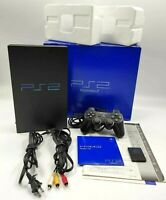 Sony PlayStation 2 PS2 Launch SCPH-10000 JAPANESE Console NTSC-J TESTED BOXED