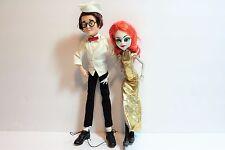 Lot of 2 Mad Monster Party Francesca & Felix  Monster High OOAK dolls