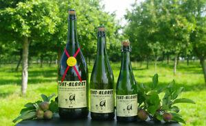 Cidre artisanal Breton Coat Albret brut, fruité, demi-sec ; 37.5cl, 75cl, 150cl