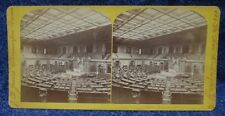Washington D.C.  View of the House of Representatives J.F. Jarvis  Stereoview