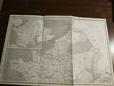 France- 1811-Map of Northern Gaul-great!(Antique version)