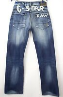 G-Star Brut Hommes Radar 01 Embro Jeans Jambe Droite Taille W32 L36 AVZ141