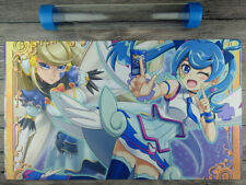 Yu-Gi-Oh! VRAINS Blue Angel Mat Custom TCG Playmat Free High Quality Tube