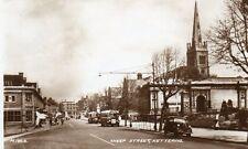 Sheep Street - KETTERING - Northants - 1951 Original Postcard. Buses, Cars (PCA)