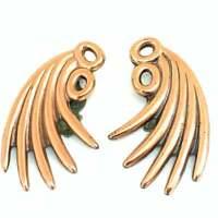 Vintage 1960's Renoir copper clip on earrings EPJ370
