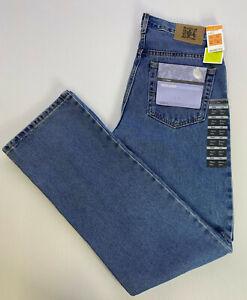 """M&S Man 100% Cotton Blue Denim Regular FIT Jeans W30"""" L33"""" Long"""
