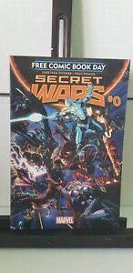 Secret Wars #0 FCBD Marvel Comics 2015