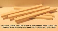 LUMBER LOADS-2x4's-FOR 50-60' FLAT/CENTERBEAM/BULKHEAD CARS-N SCALE: FNL-1002