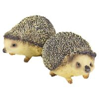 Cute Poly Resin Garden Indoor Outdoor Hedgehog Figurine Ornament Decoration