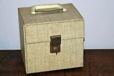 Vintage Record Box - with Key