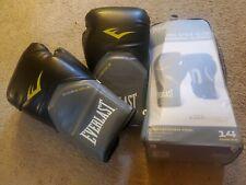 Everlast boxing gloves 14 oz Pro Style Elite Training Gloves. Used once