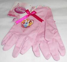 Disney Princess Pink Canvas Gloves