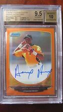 Alen Hanson 2013 Bowman Chrome BGS 9.5/10 Orange Refractor RC Auto #22/25