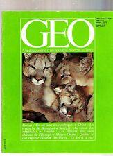 geo  magazine numero 32 /