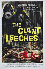 Attack of the Giant Leeches (1959) Cult Horror movie poster print 2