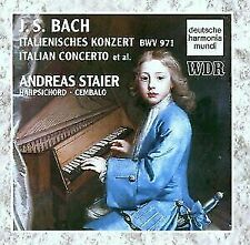 Virtuoso Harpsichord Works, Bach, Staier