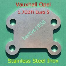 Egr Blanking Block Plate Opel/Vauxhall CORSA ASTRA ZAFIRA MERIVA 1.7 CDTI Euro 5