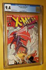 The Uncanny X-Men #230 CGC 9.4 White Pgs.
