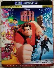 Wreck-It Ralph (4K UHD Bluray) No Regular Bluray No Digital Code